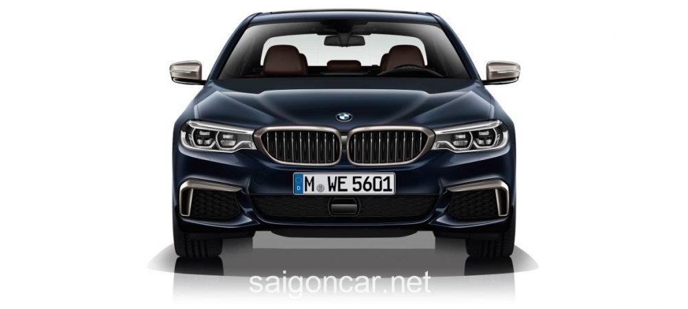 BMW 580i Dau Xe