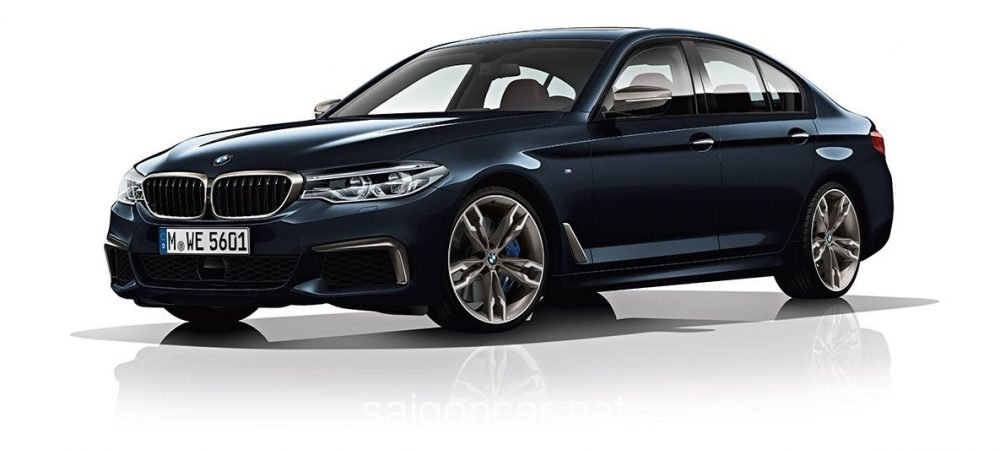 BMW 580i Den Truoc