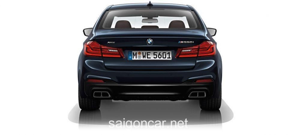 BMW 580i Duoi Xe