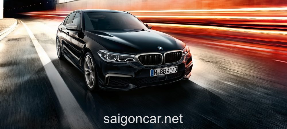 BMW 580i Tong Quan
