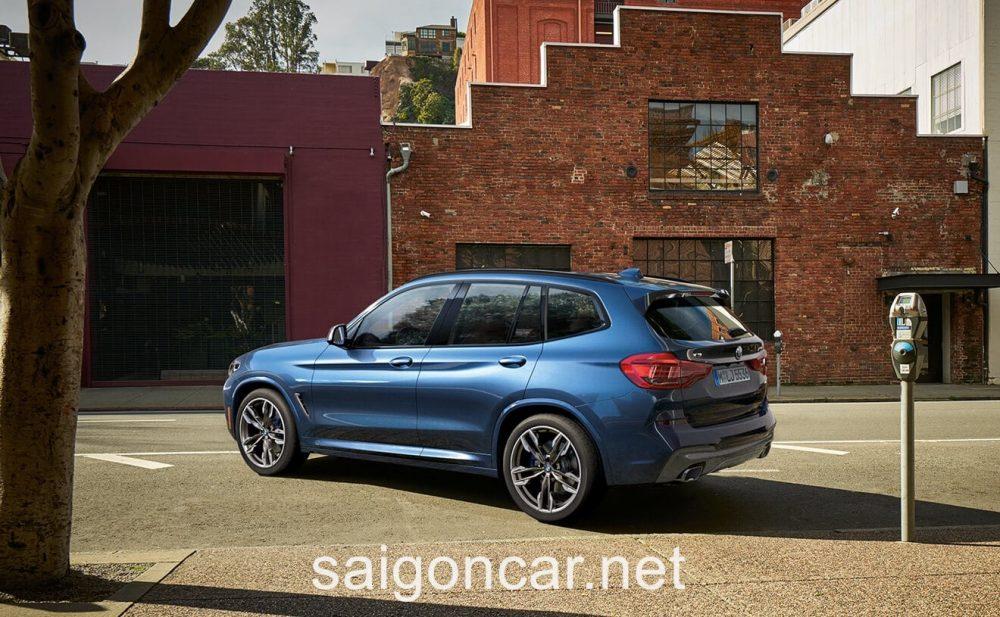 BMW X3 Hong Xanh