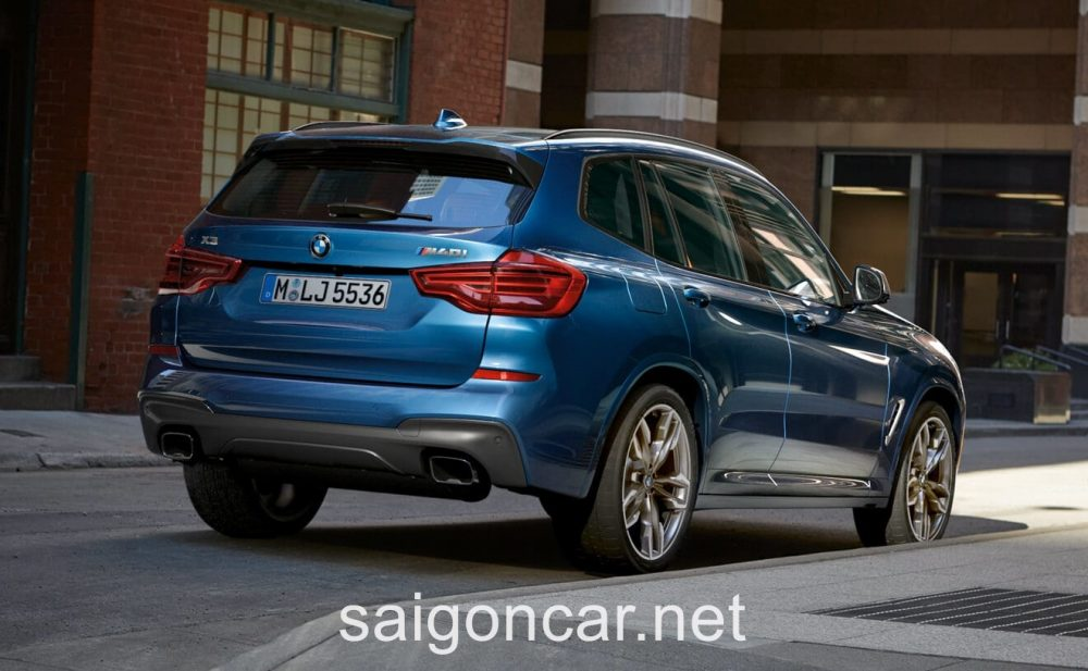 BMW X3 Po Xe
