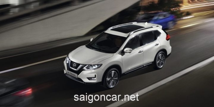 NISSAN X-TRAIL Tang Toc