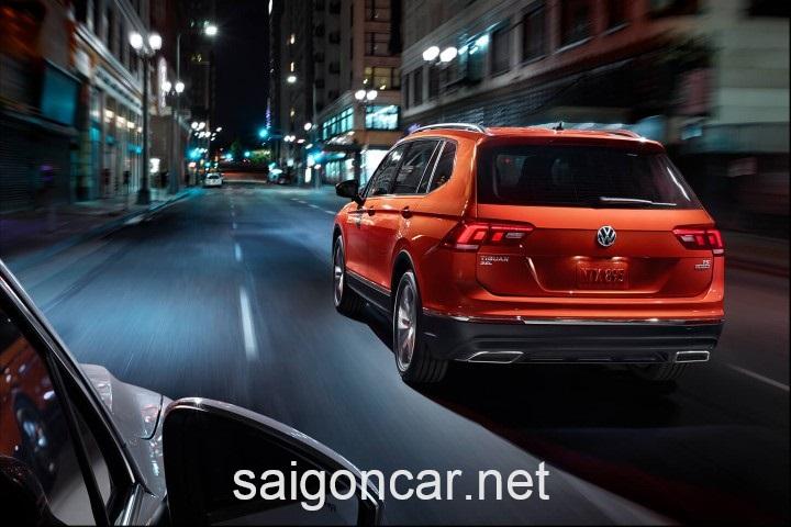 Volkswagen Tiguan Duoi Xe