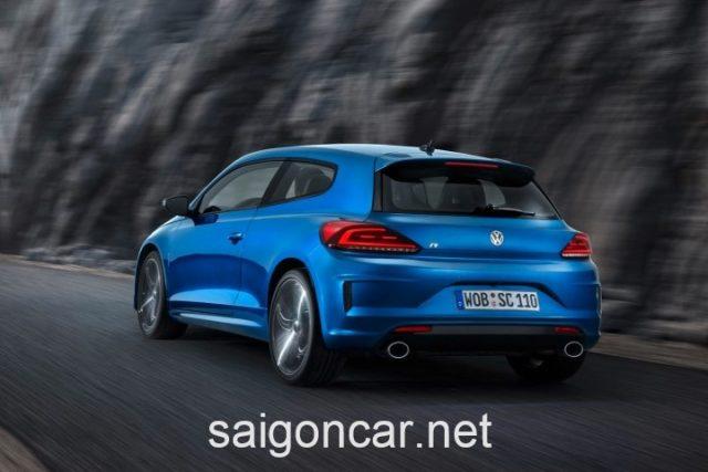 Volkswagen scirocco Duoi Xe