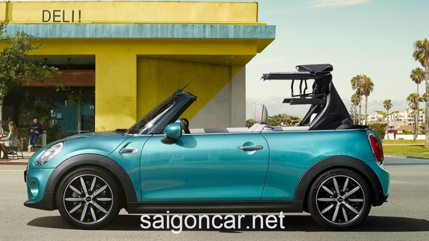 Mini Cooper Roadster Hong Xanh
