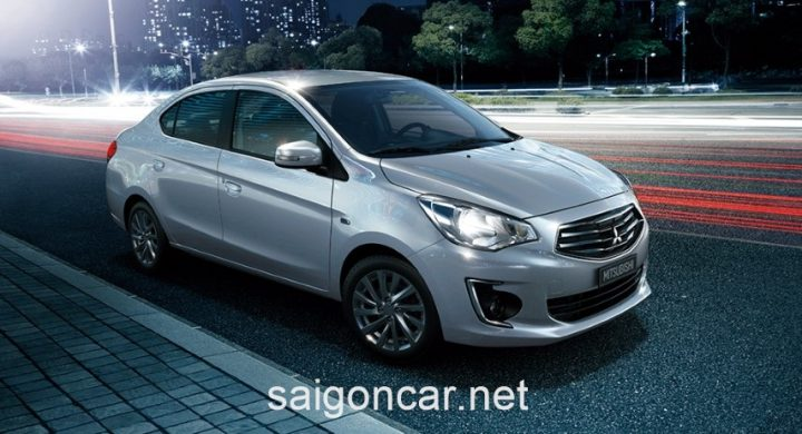Mitsubishi Attrage Hong Bac