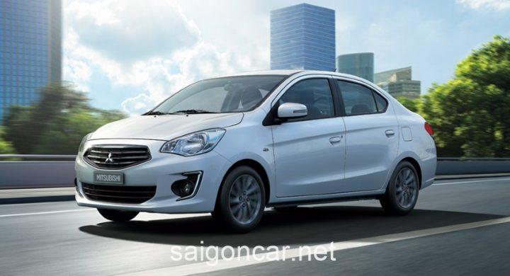 Mitsubishi Attrage Hong Trang