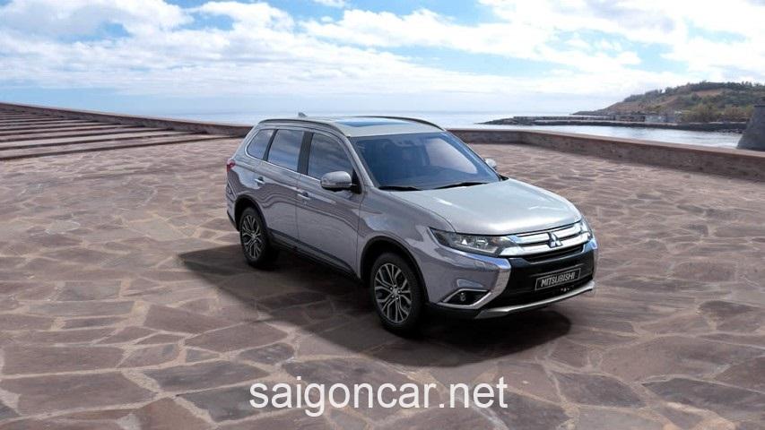 Mitsubishi Outlander Hong Bac