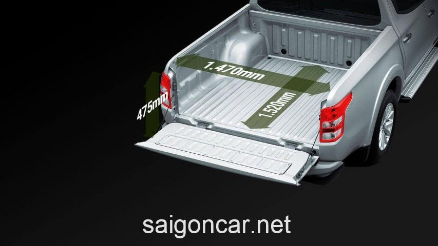 Mitsubishi Triton Thung Xe