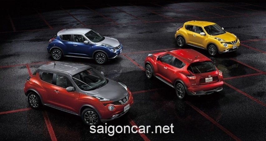 Nissan Juke Tong Quan