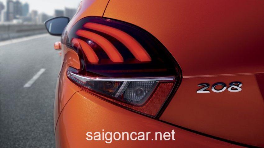 Peugeot 208 Duoi Cam