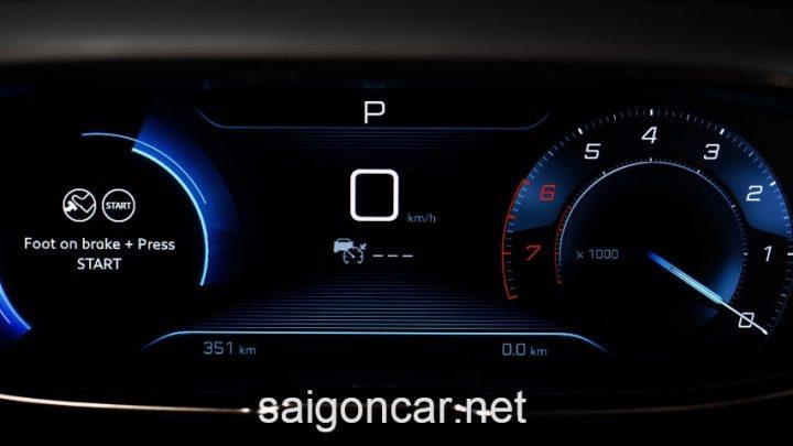 Peugeot 3008 Dong Ho