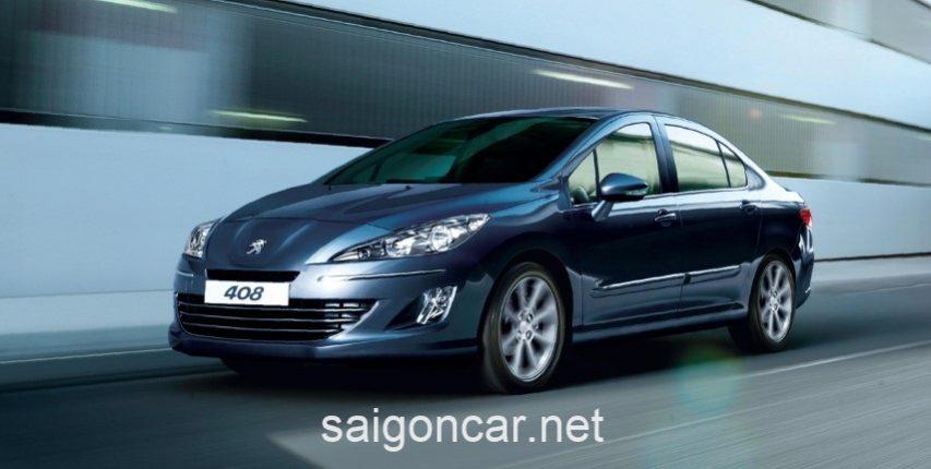 Peugeot 408 Tong Quan
