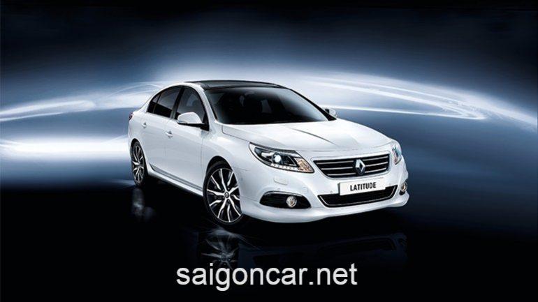 Renault Latitude Dau Trang