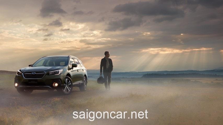 Subaru Outback Dau Xe