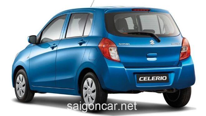 Suzuki Celerio Duoi Xanh