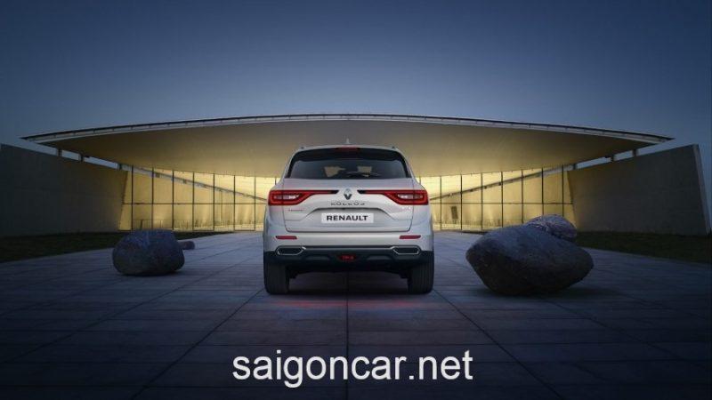 Renault Koleos Duoi Xe