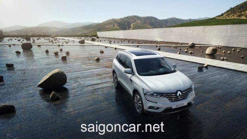Renault Koleos Mau Trang