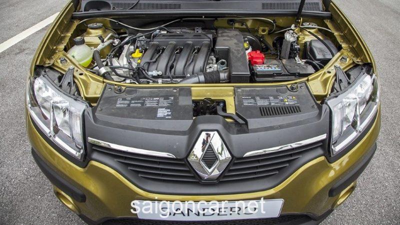 Renault Sandero Khoang May
