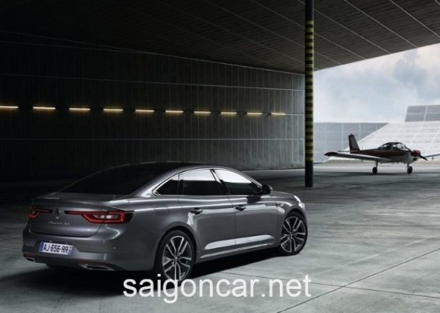 Renault Talisman Duoi Xe