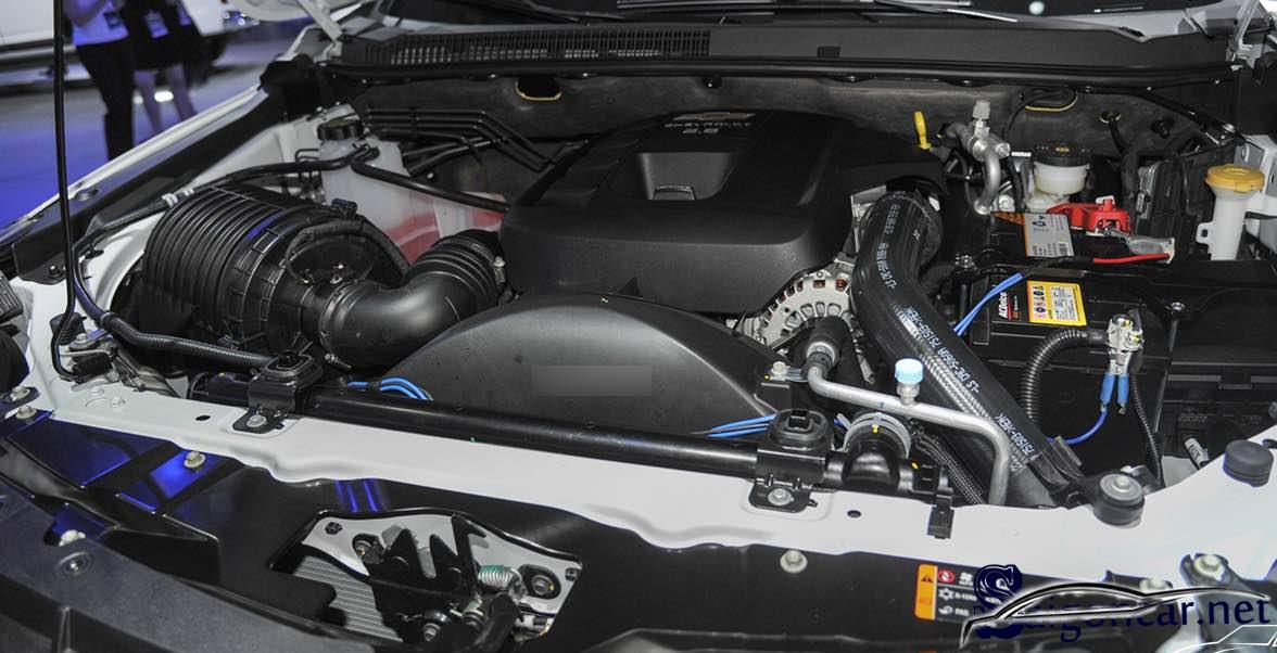 Chevrolet Trailblazer 2019 động cơ