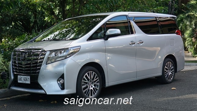 Toyota Alphard Tong Quan