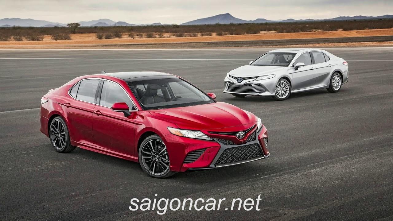 Toyota Camry 2019 Tong Quan