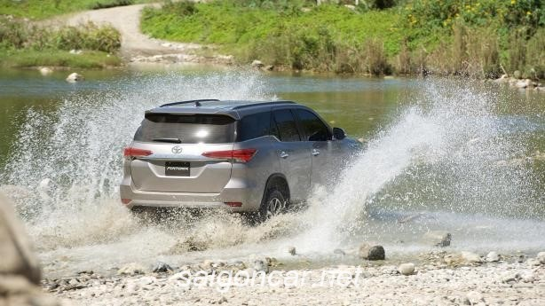 Toyota Fortuner Duoi Xe