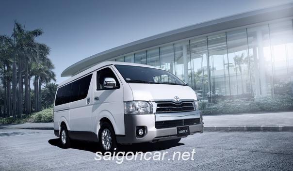 Toyota Hiace Tong Quan