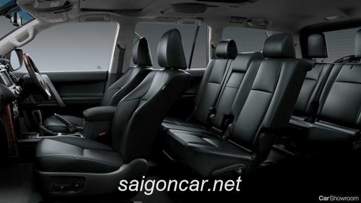 Toyota Land Cruiser Prado Ghe Ngoi