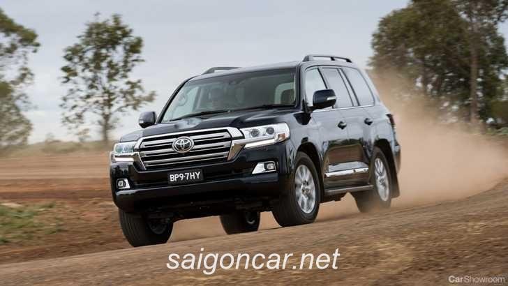 Toyota Land Cruiser Tong Quan