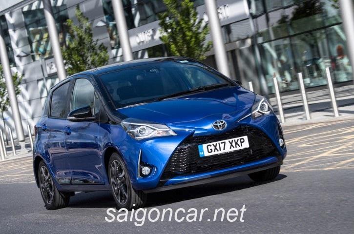 Toyota Yaris Tong Quan