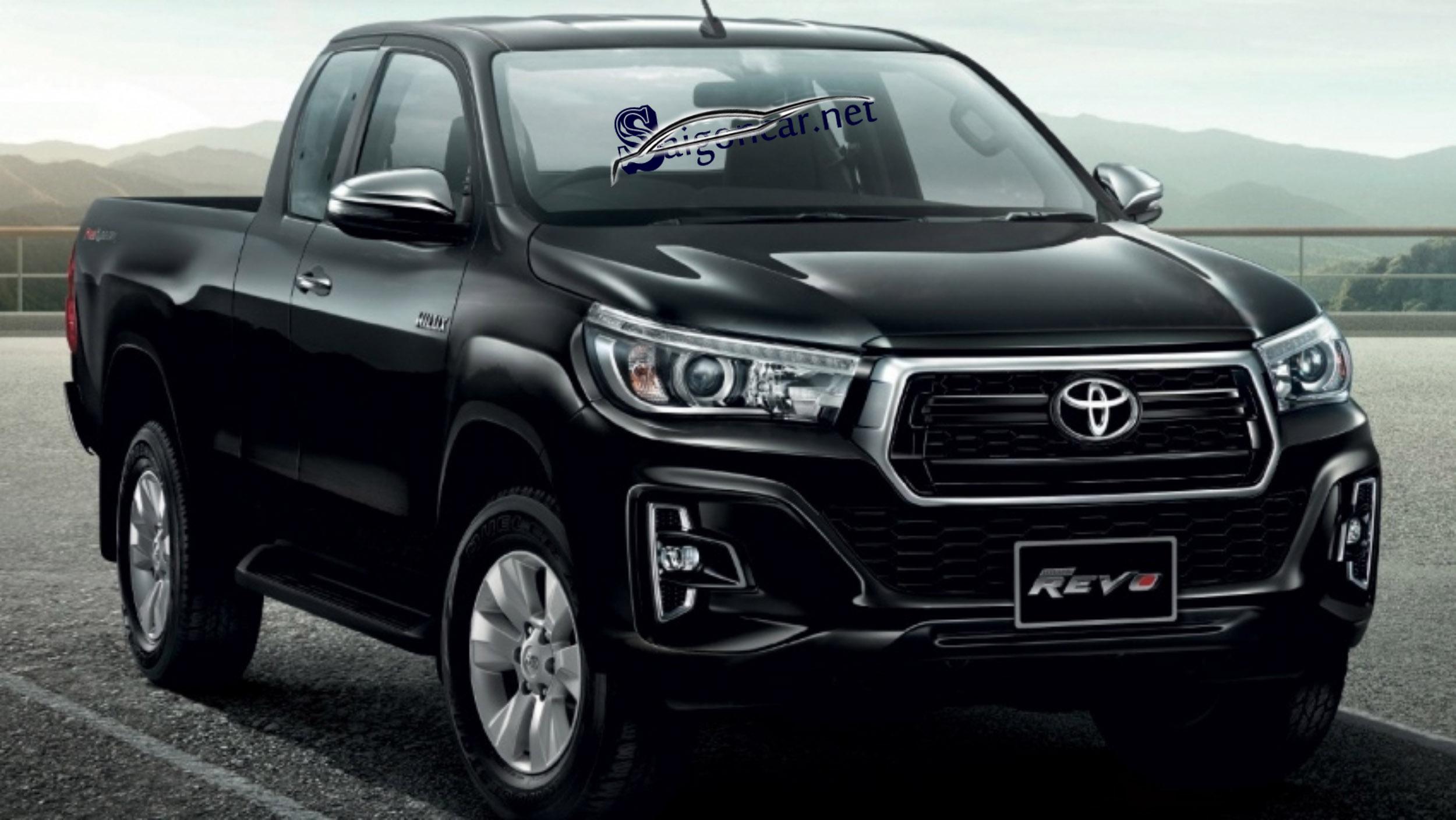 Toyota Hilux 2.8 2019 hoàn toàn mới