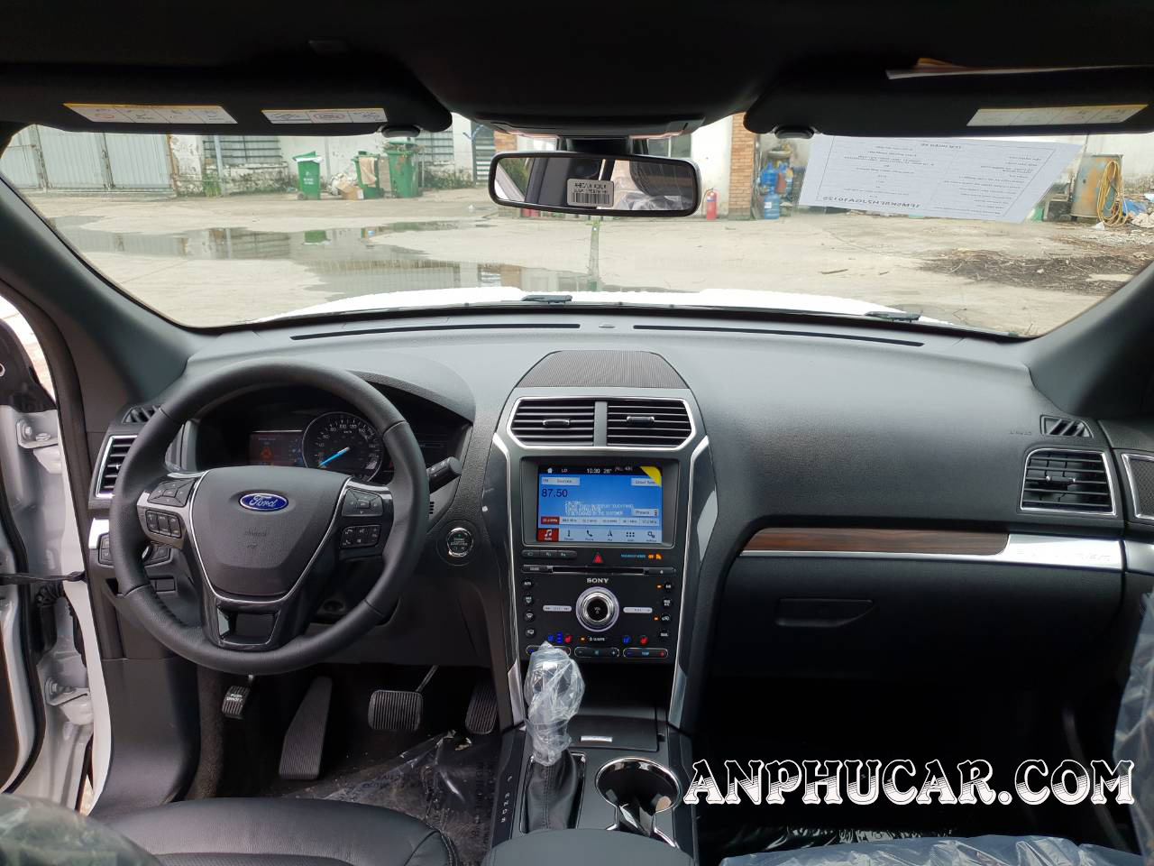 Nội thất Ford Explorer 2019