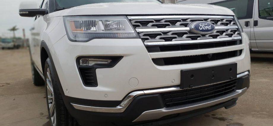 Sự thay đổi trên Ford Explorer 2019
