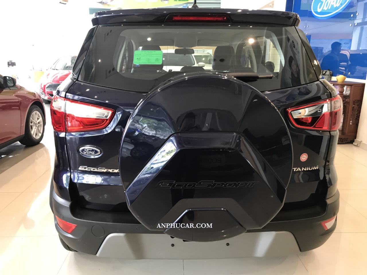 Bánh dự phòng treo sau trên Ford Ecosport 2019