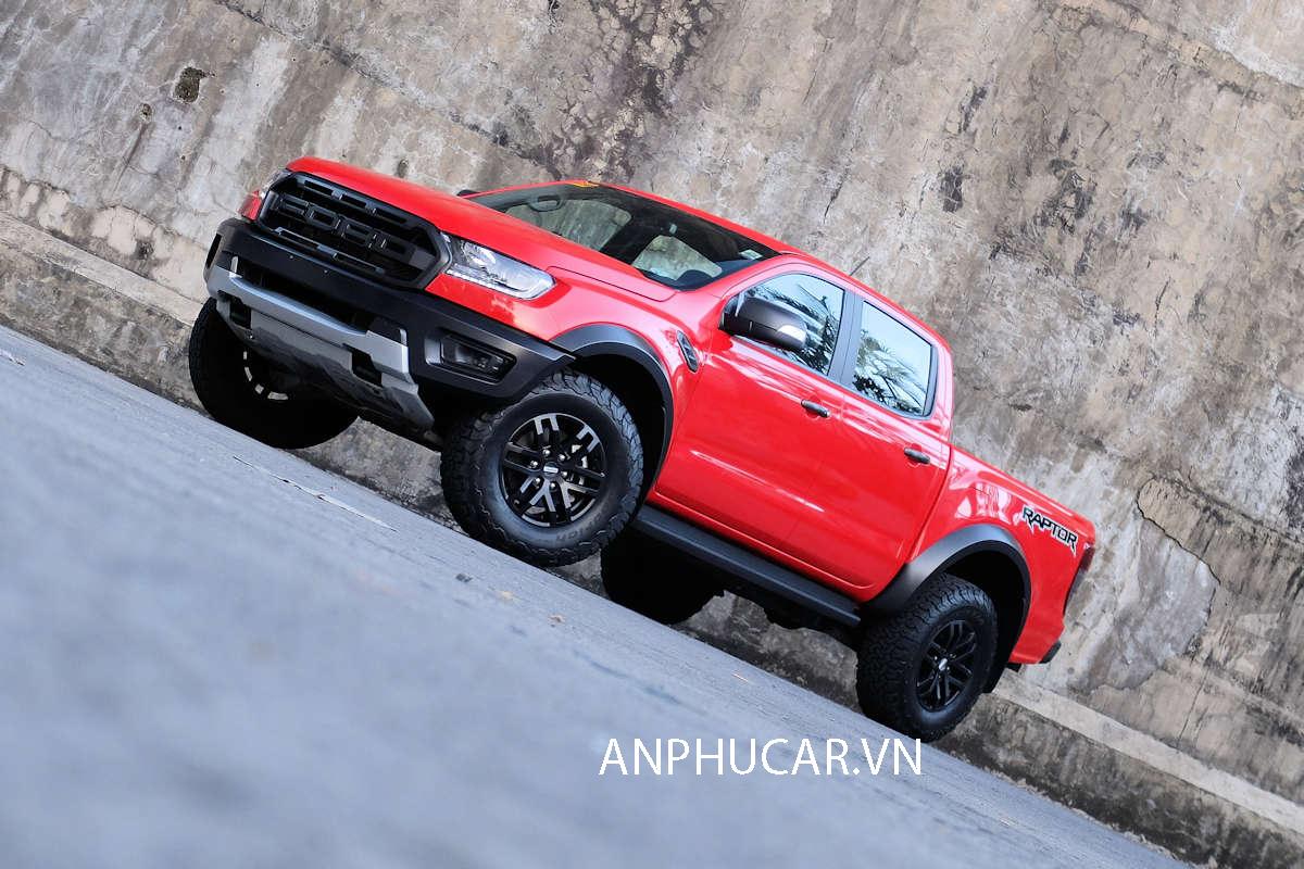 Ford Ranger Raptor 2019 đỏ