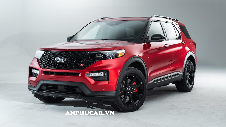 Ford Explorer 2020 màu đỏ