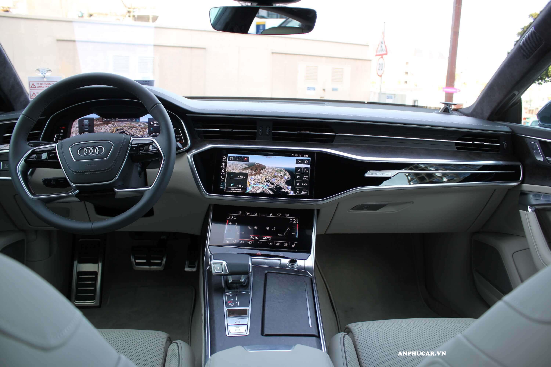 Nội thất Audi A7 Sportback 2020