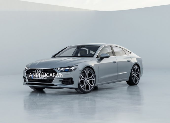 Ngoại thất Audi A7 2020