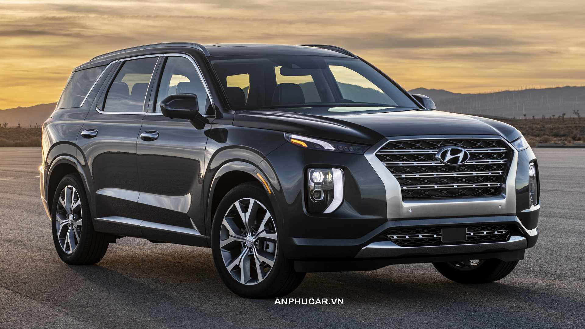 Ngoại thất Hyundai Palisade 2020