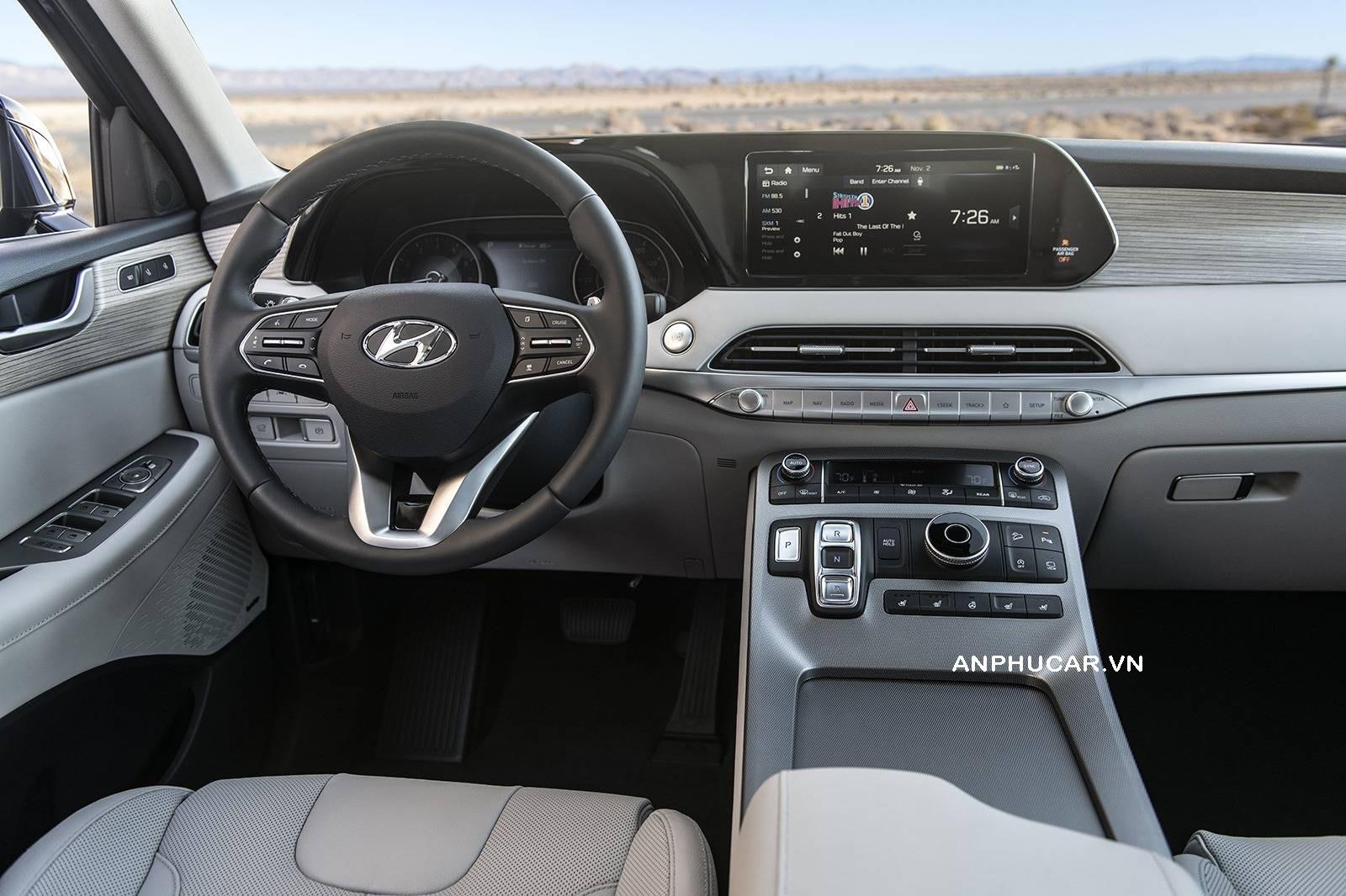 Nội thất Hyundai Palisade 2020 đánh giá xe