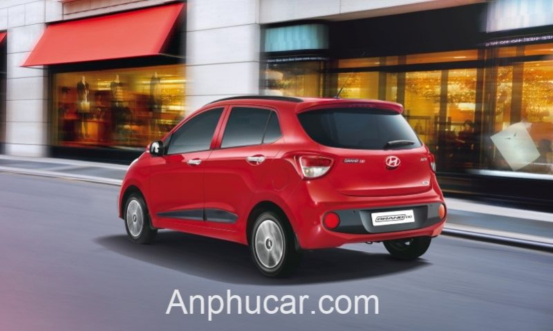 Đanh Gia Xe Hyundai Grand i10 Hatchback 2020 Mau Do