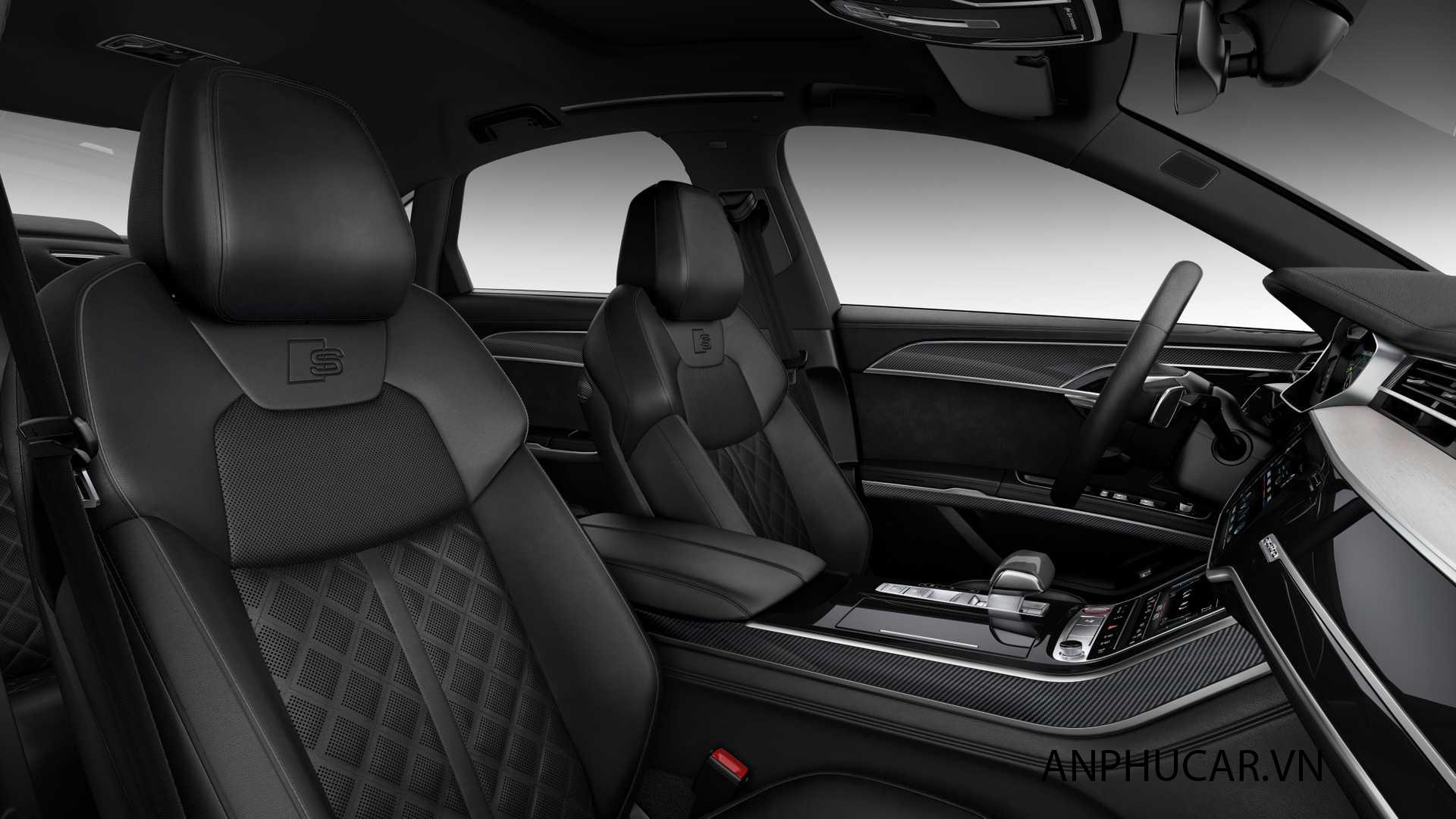 nội thất sang chảnh - Audi S8 2020