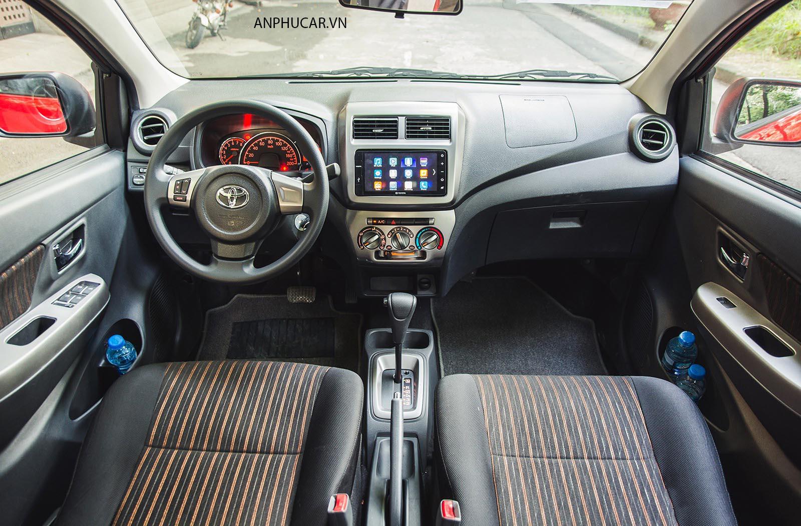 Nội thất Toyota Wigo