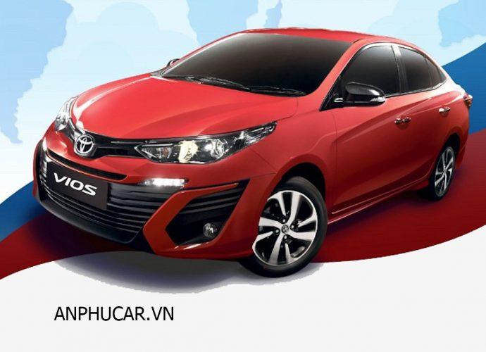 Dòng xe phổ biến tại Việt Nam Toyota Vios