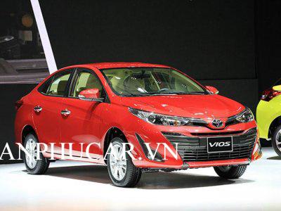 Toyota Vios 2020 khuyến mãi