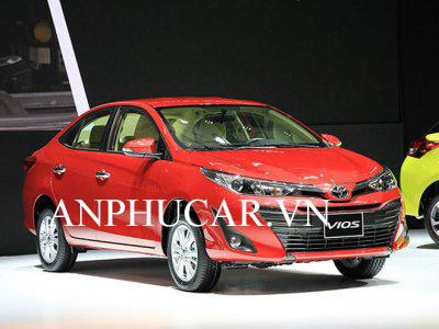 Toyota Vios thế hệ 2020 khuyến mãi