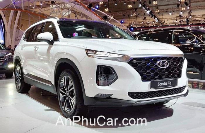 Gia Xe Hyundai Santafe 2020 Mau Trang